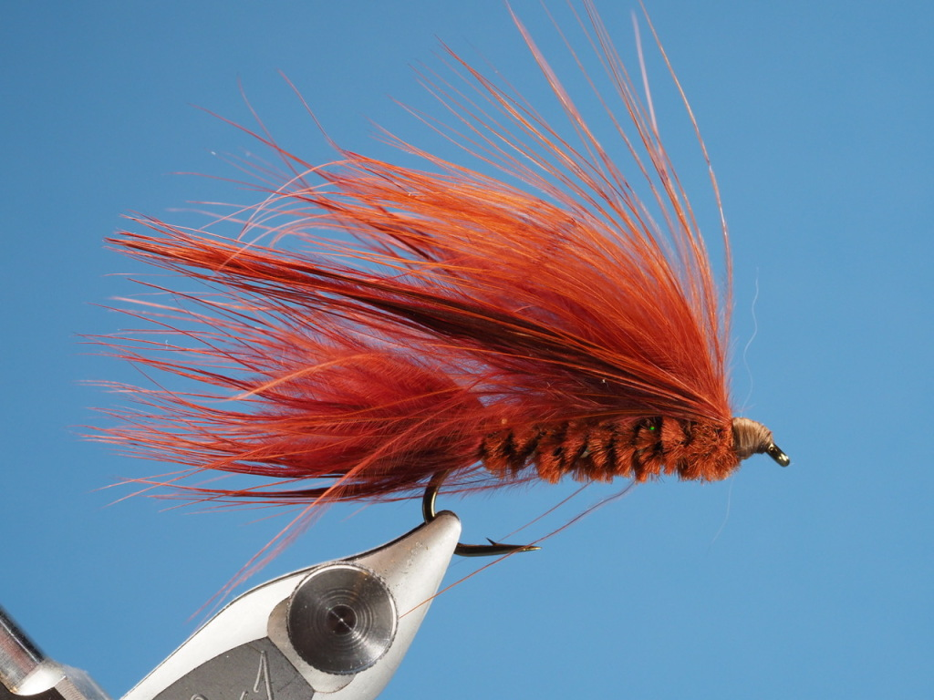 This Brown Marabou Lake Leech was tied by my friend who has fished this pattern on Gold Lake since 1974.